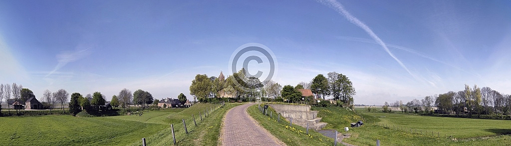 Terp in Hegebeintum (Fryslân)