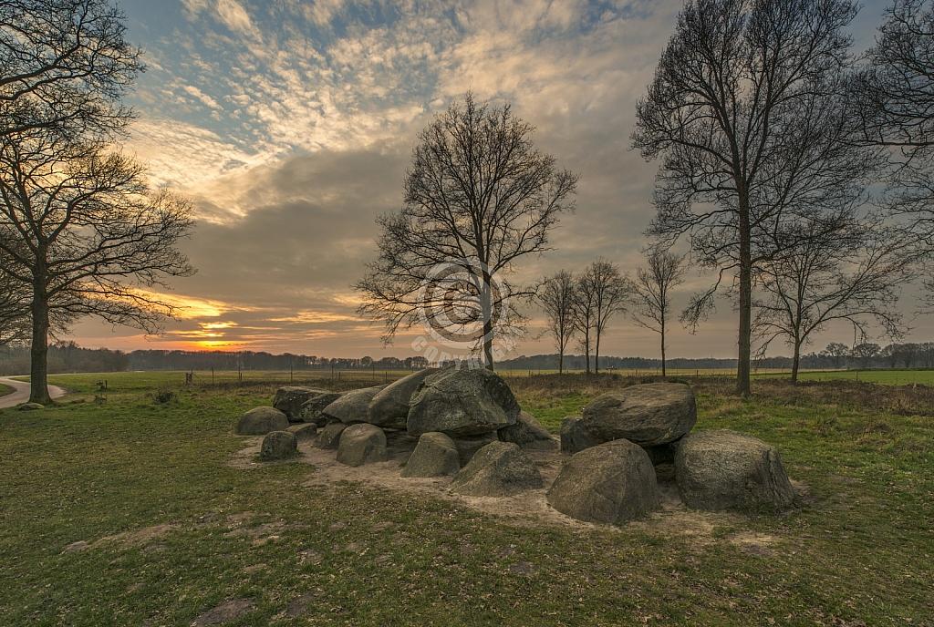 Hunebed D52 bij Diever (Drenthe)