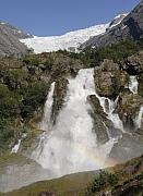 Gletsjer Briksdalbreen, Noorwegen