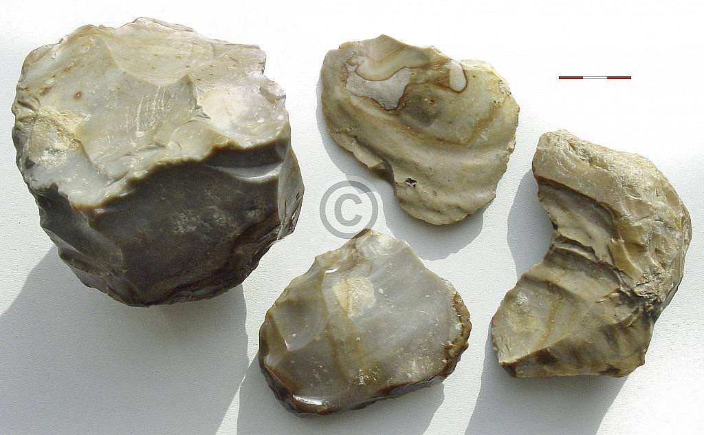 Ravenswoud, Menningweg (Fryslân), vervalste 'Neanderthaler'-artefacten, collectie Tjerk Vermaning
